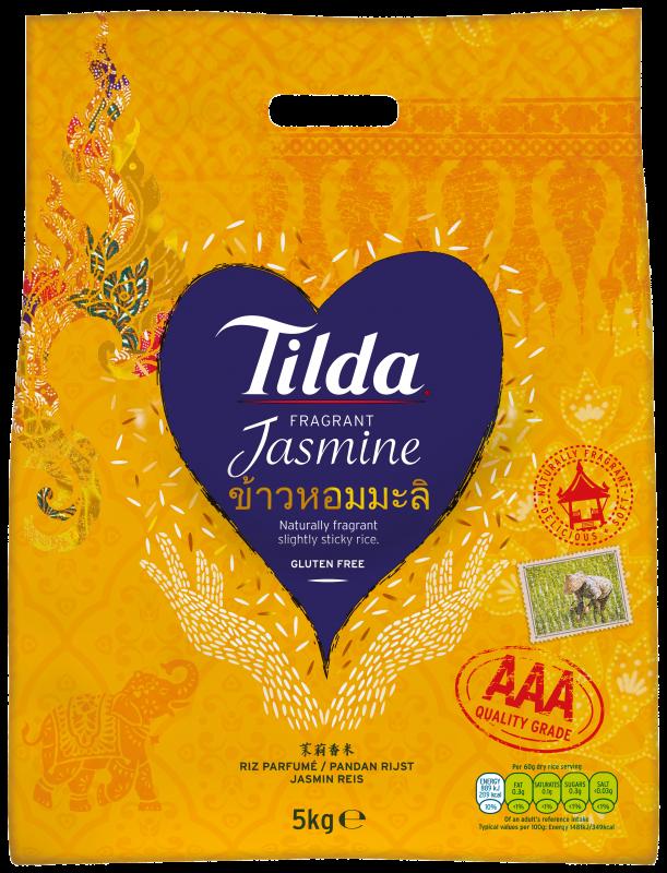 Tilda Fragrant Jasmine 5kg