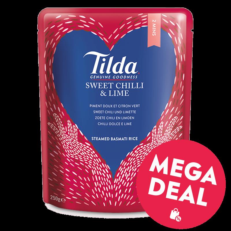 Tilda Sweet Chili & Limette 250g