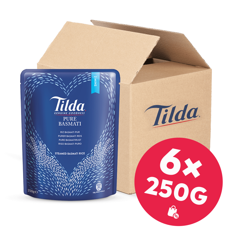Tilda Pure Basmati 6x 250g