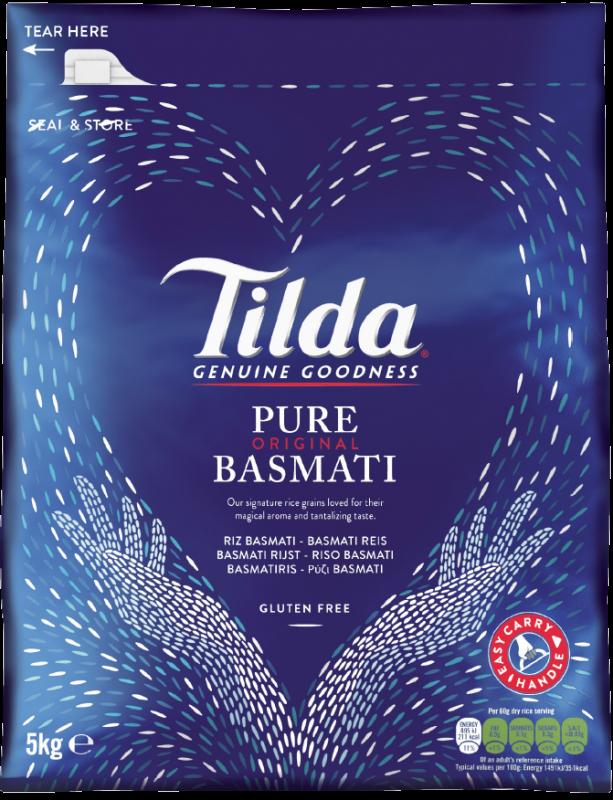 Tilda Pure Basmati 5kg