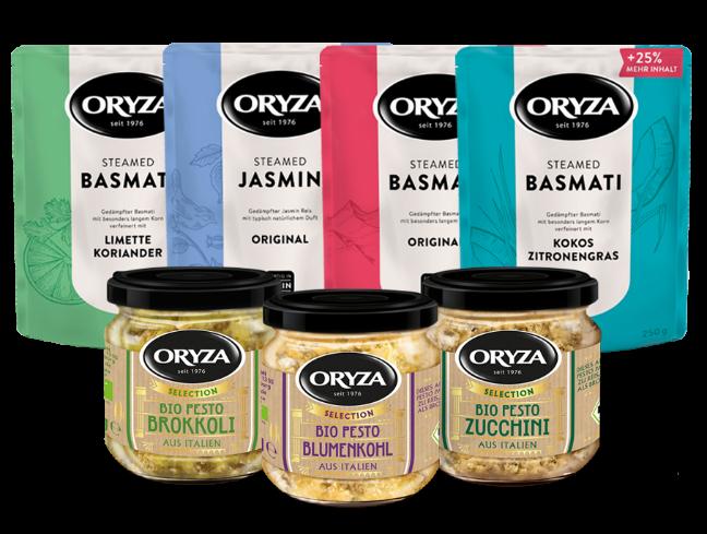 ORYZA Express & Pesto Paket