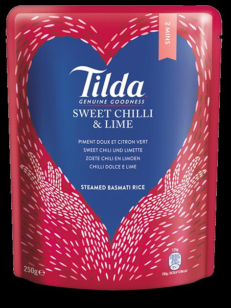 Tilda Sweet Chili & Limette 250 g