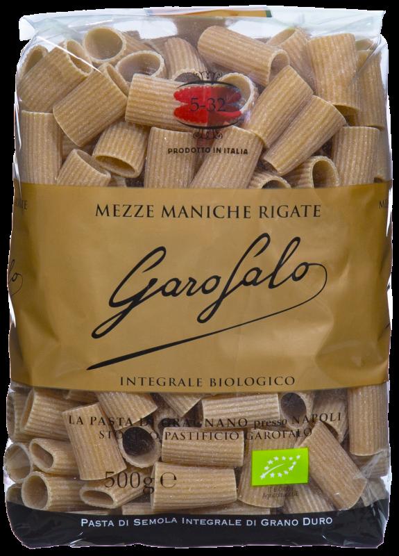 Garofalo BIO Vollkorn Mezze Maniche Rigate 500g