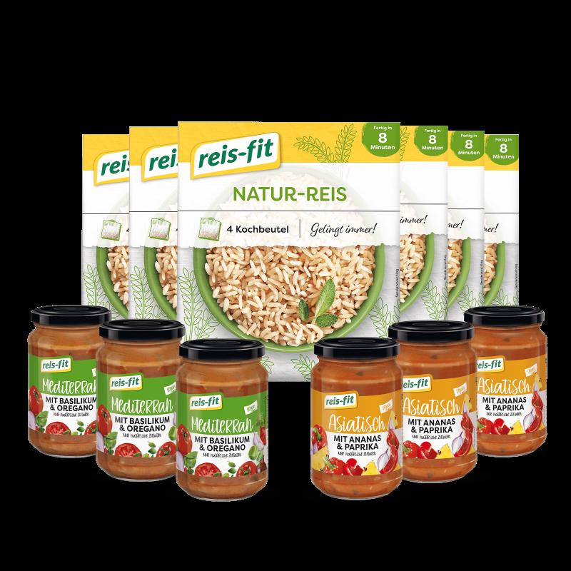 reis-fit Natur-Reis & Saucen Paket