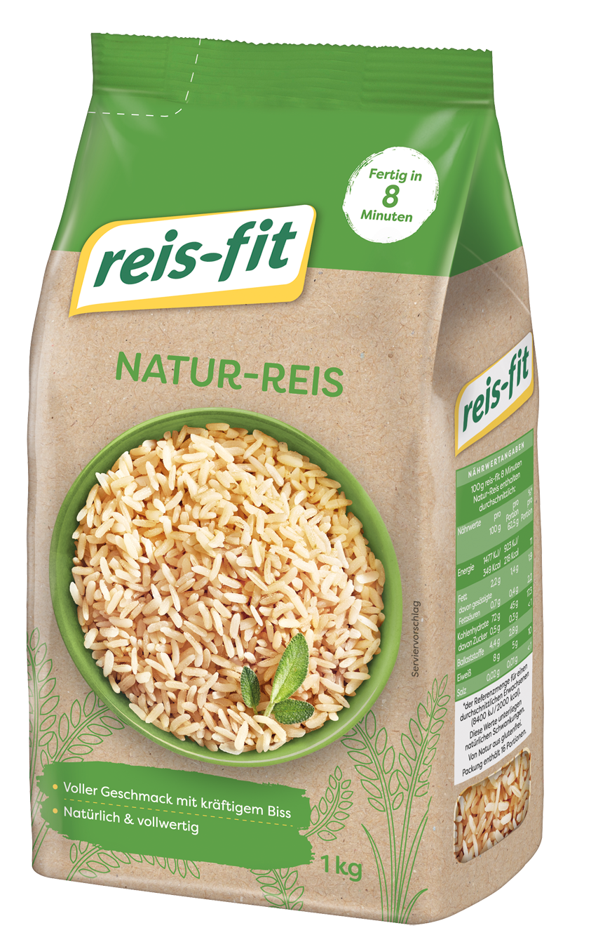 reis-fit 8 Minuten Natur-Reis 10x 1kg