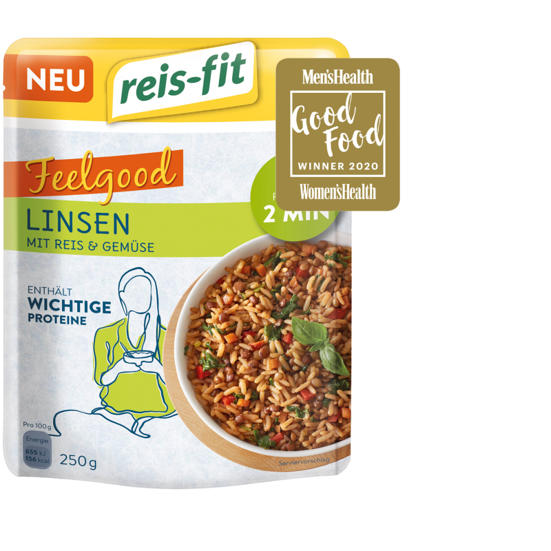 reis-fit Feelgood Linsen 250g