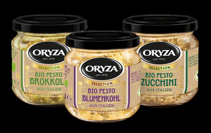 ORYZA Bio Pesto Probierpaket