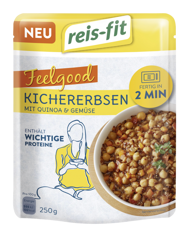 reis-fit Feelgood Kichererbsen 250g
