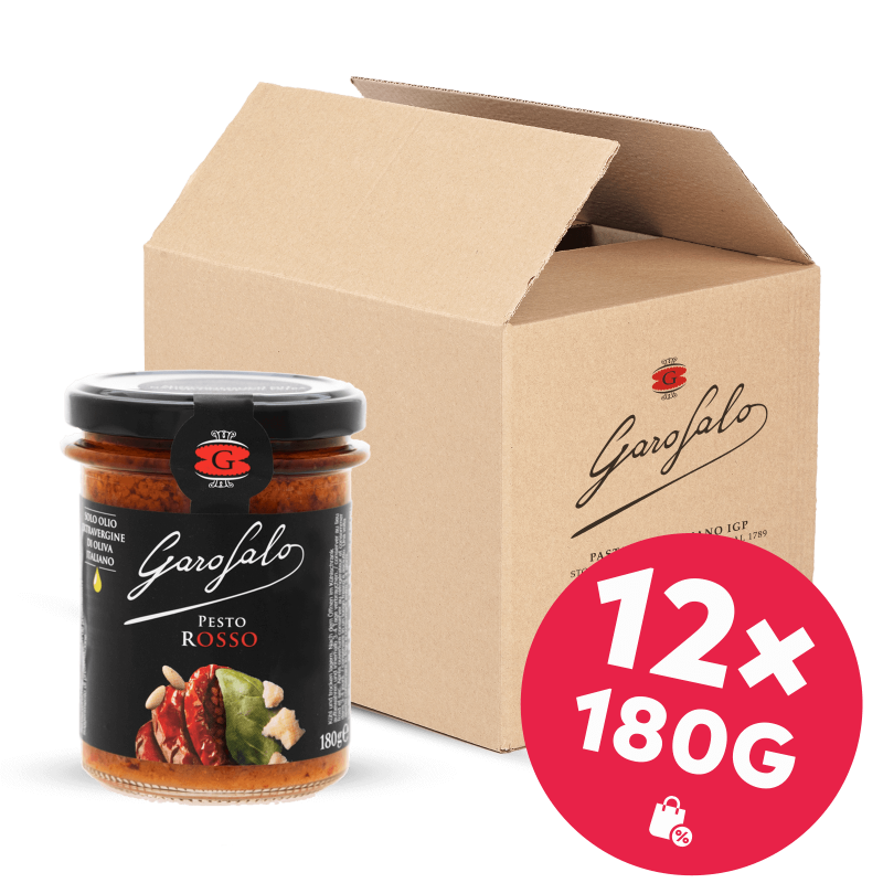 Garofalo Pesto Rosso 12x 180g