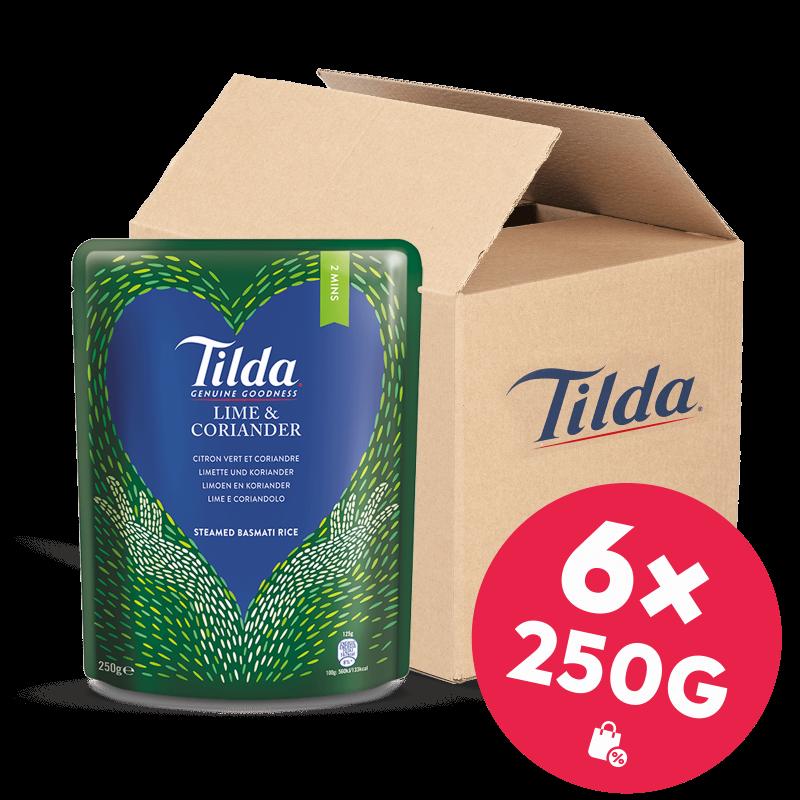Tilda Limette & Koriander 6x 250g
