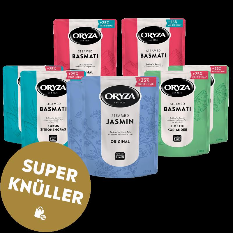 ORYZA Steamed Paket