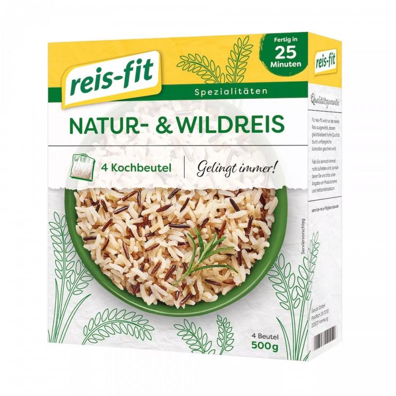 reis-fit Natur- & Wildreis 500g