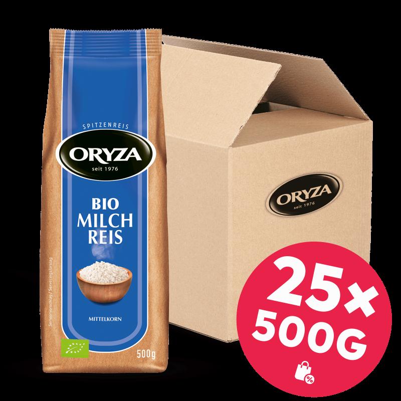 ORYZA BIO Milch Reis 25x 500g