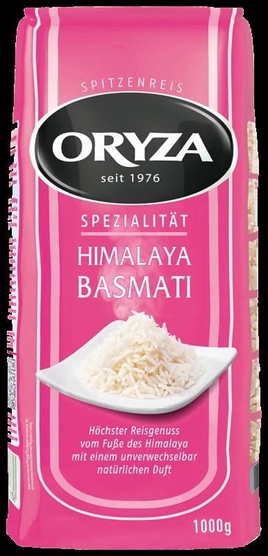 ORYZA Himalaya Basmati Reis 1kg