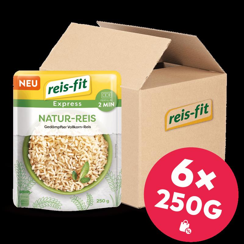 reis-fit Express Natur-Reis 6x 250g