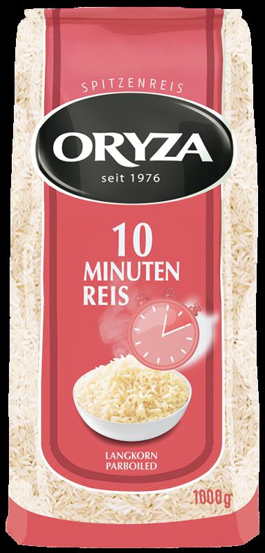 ORYZA 10 Min. Parboiled Reis 1kg