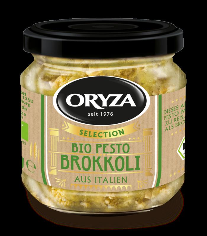 ORYZA Bio Pesto Brokkoli 180g