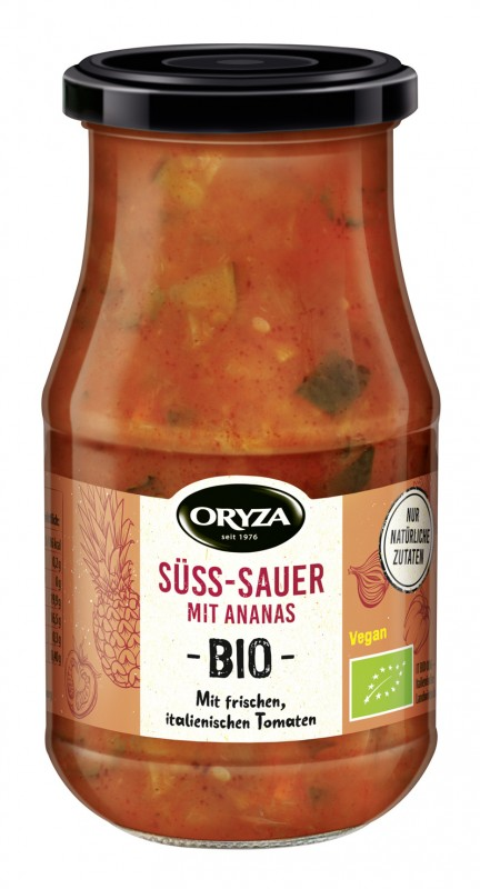 ORYZA BIO Sauce Süß-Sauer 410g