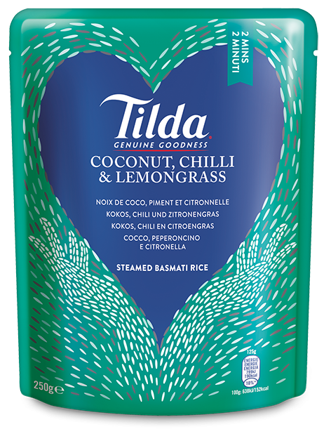 Tilda Kokos, Chili & Zitronengras 250g