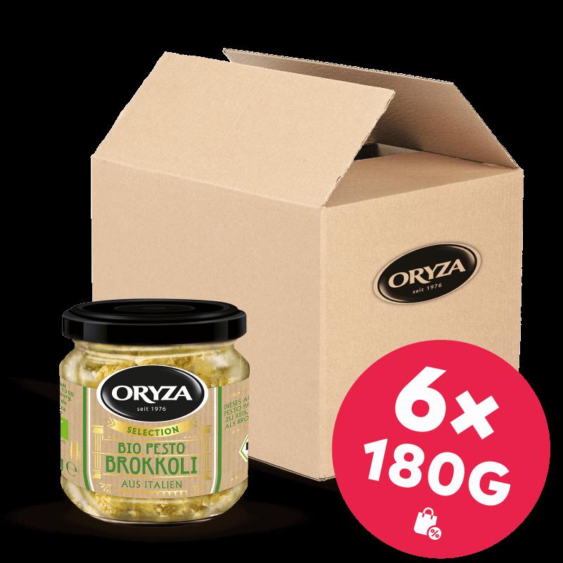 ORYZA Bio Pesto Brokkoli 6x 180g