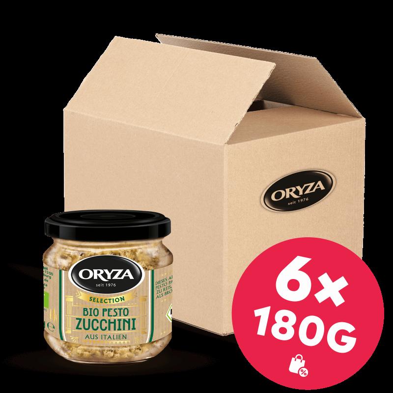 ORYZA Bio Pesto Zucchini 6x 180g