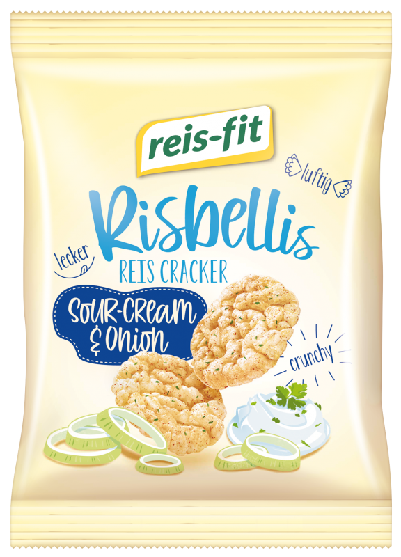 reis-fit Risbellis Sour Cream & Onion 40g