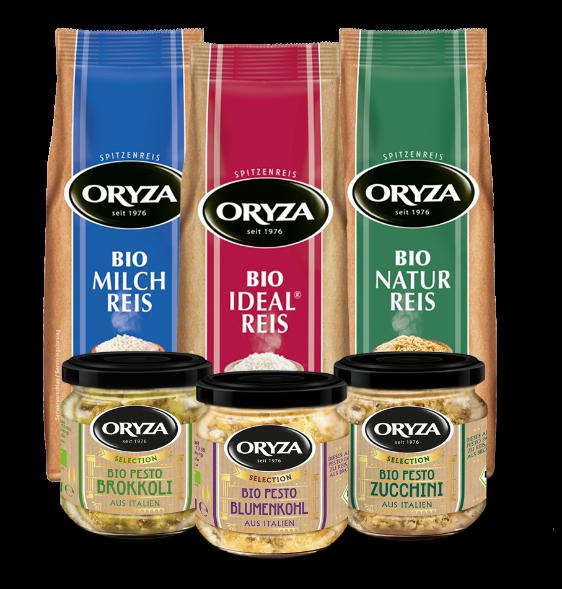 ORYZA Bio Reis & Pesto Paket
