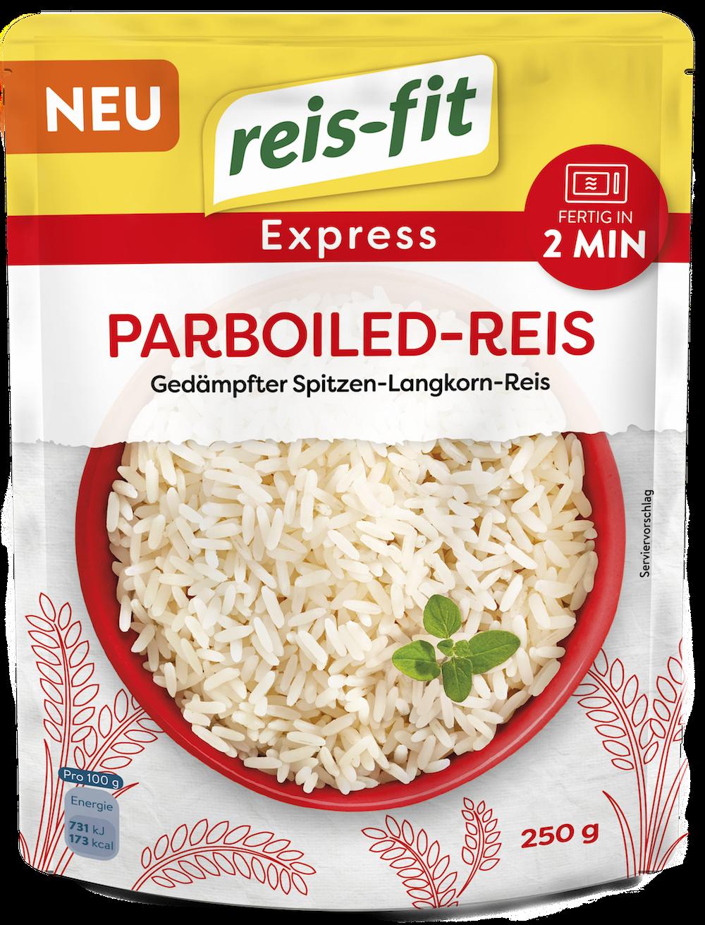 reis-fit Express Parboiled-Reis 6x 250g
