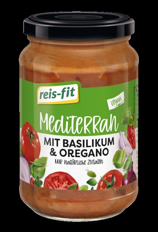 reis-fit Sauce Mediterran 330g