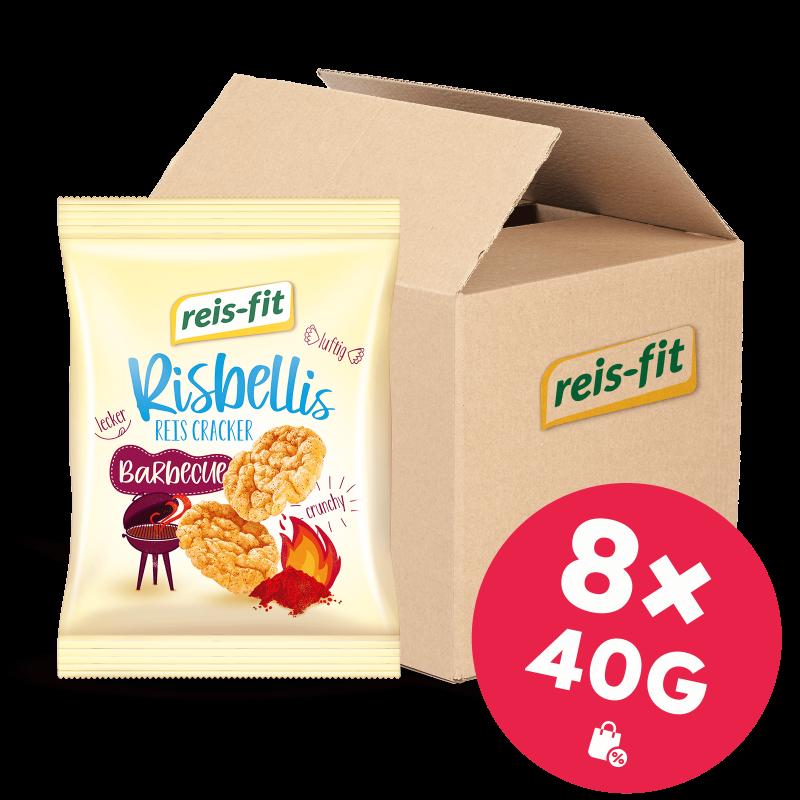 reis-fit Risbellis Barbecue 8x40g