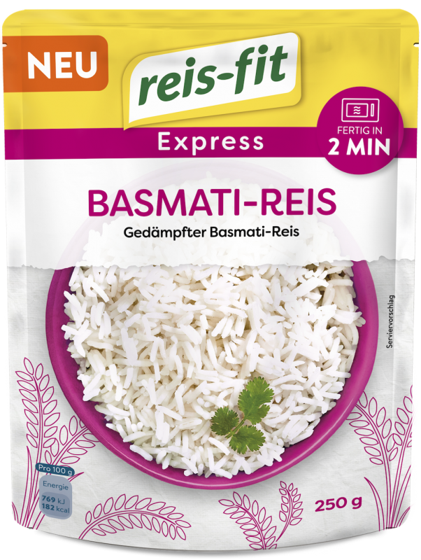 reis-fit Express Basmati-Reis 250g