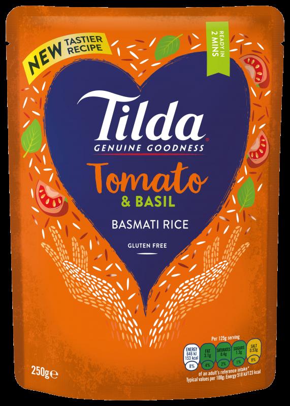 Tilda Tomate & Basilikum 250g