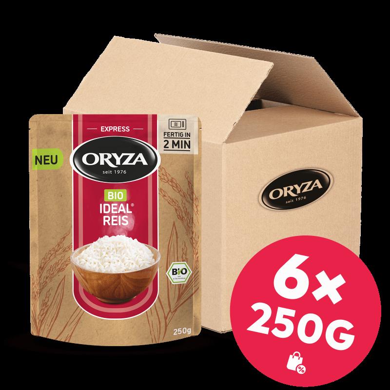 ORYZA BIO Express Ideal Reis 6x 250g