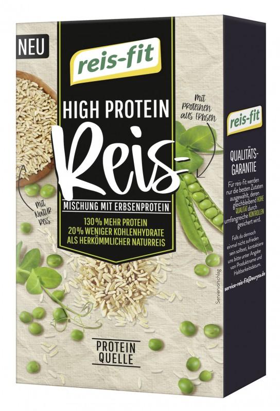 reis-fit High Protein Reis 12x400g
