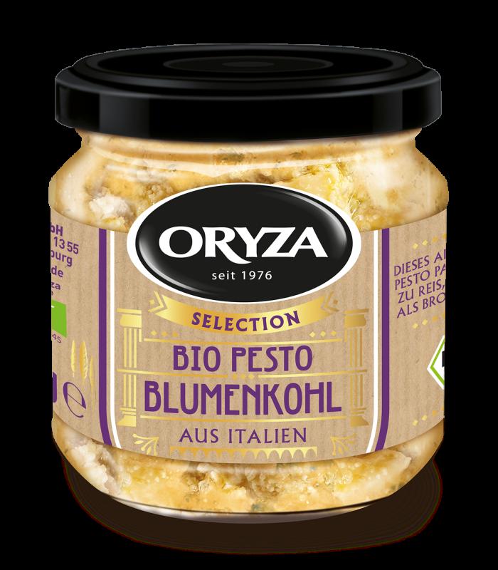 ORYZA Bio Pesto Blumenkohl 180g