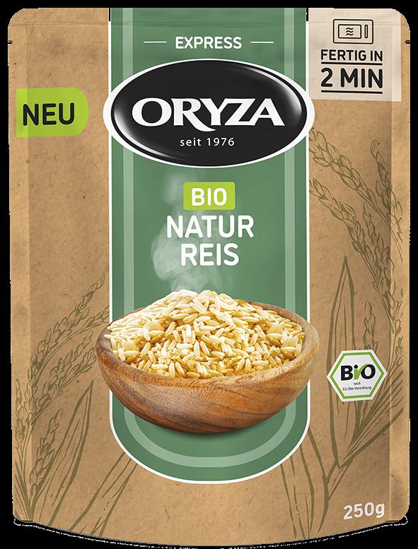 ORYZA BIO Express Natur Reis 250g