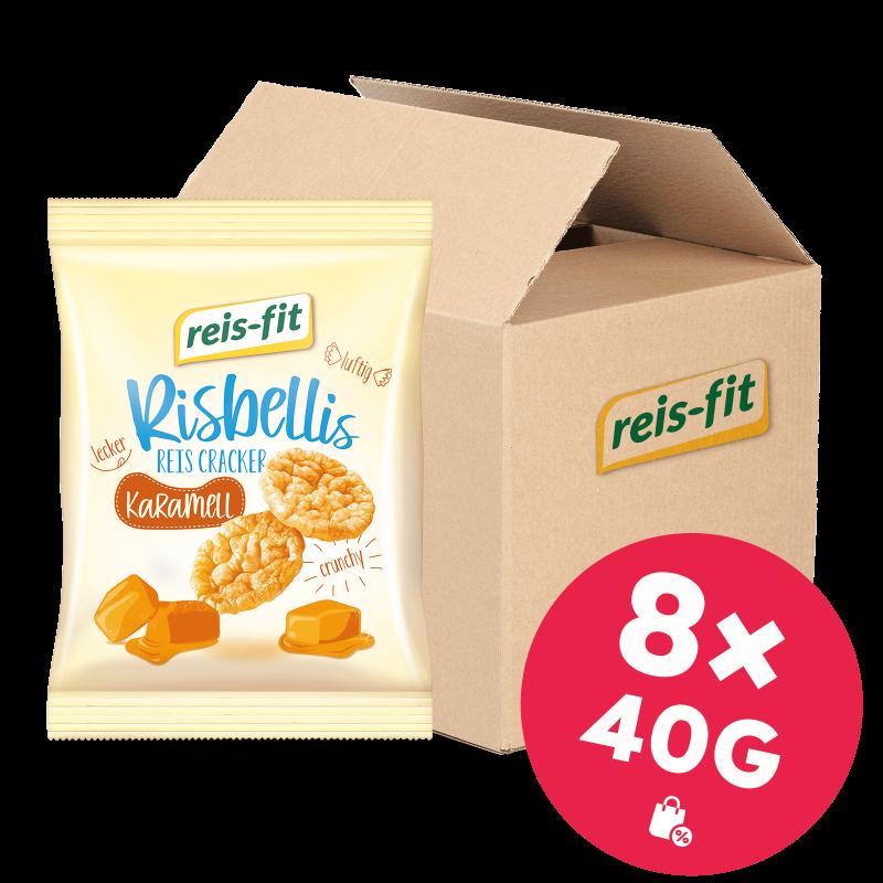 reis-fit Risbellis Karamell 8x40g